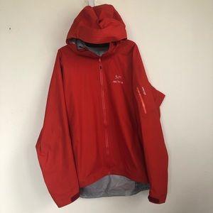 ARC'TERYX GORE TEX Active Front Zip Rain Jacket